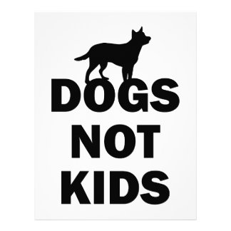 Dogs Not Kids Letterhead