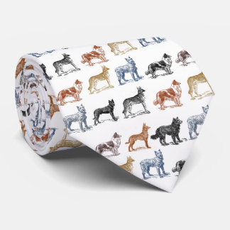 Dogs Of All Kinds Necktie