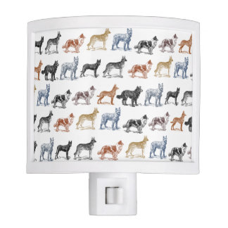 Dogs Of All Kinds Night Lights
