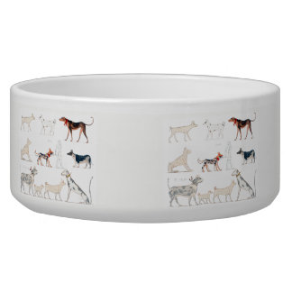 Dogs of Ancient Egypt Pet Bowl