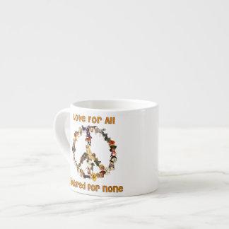 Dogs Of Peace 6 Oz Ceramic Espresso Cup
