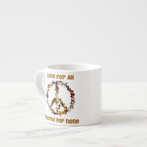 Dogs Of Peace Espresso Cup