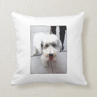 Dogs Of Soho NYC Throw Pillow