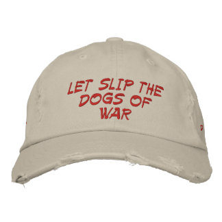 Dogs of War 1-32 Embroidered Hat