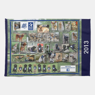 Dogs of WCC 2013 Kitchen Towel