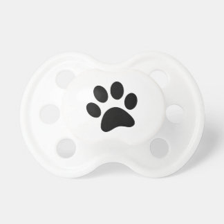 Dog's Paw Print Pacifier