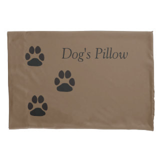 Dog's pillow pillowcase