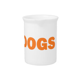 DOGS PITCHER