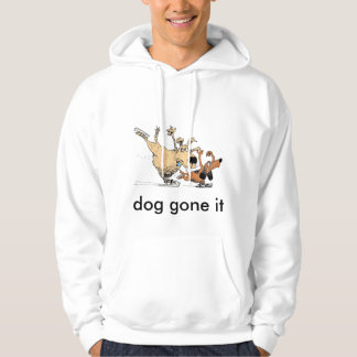 Dogs Playing On Ice- Image On Sweat Shirt