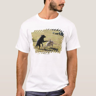 Dogs playing T-Shirt