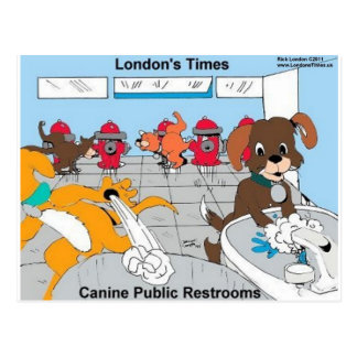 Dogs Public Restrooms Funny Gifts Tees Cards Etc