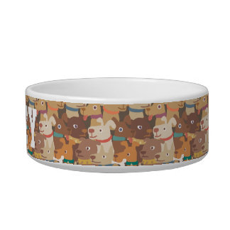Dogs Rule! Dogs Pattern. Add Dog's Name. Bowl