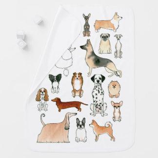 Dogs Stroller Blankets