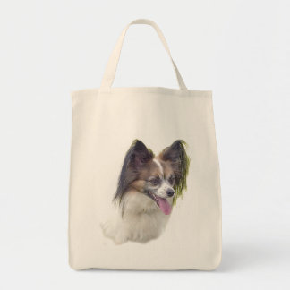 Dogs - Toy Breeds - Papillion Tote Bag