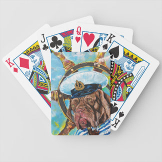 Dog's Year // Sailor's Dog // Gift to him Bicycle Playing Cards