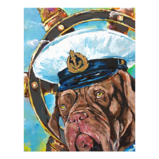 Dog's Year // Sailor's Dog // Gift to him Letterhead