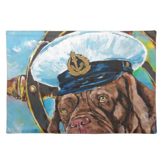 Dog's Year // Sailor's Dog // Gift to him Placemat