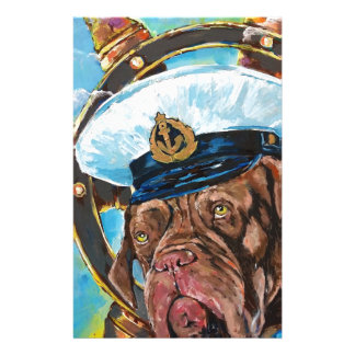 Dog's Year // Sailor's Dog // Gift to him Stationery