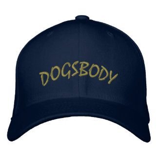 Dogsbody Hat Embroidered Baseball Cap