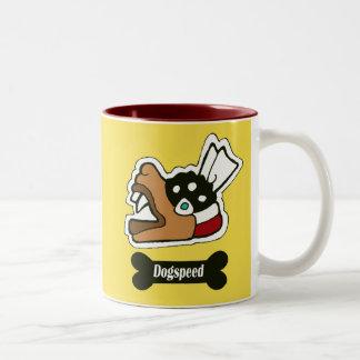 Dogspeed Two-Tone Coffee Mug