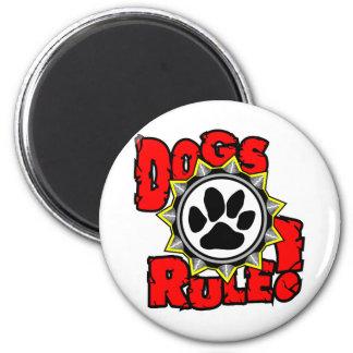 DogsRule_Logo_Color Magnet