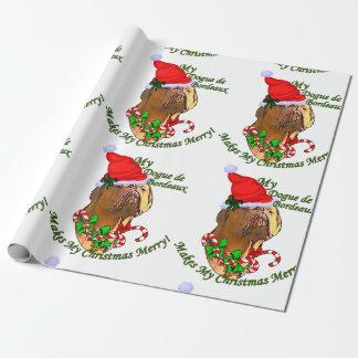 Dogue de Bordeaux Christmas