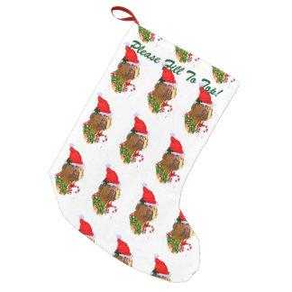 Dogue de Bordeaux Christmas Small Christmas Stocking