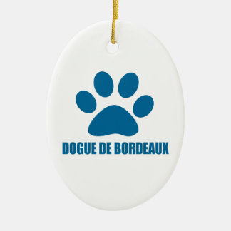 DOGUE DE BORDEAUX DOG DESIGNS CERAMIC ORNAMENT