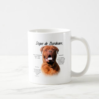 Dogue de Bordeaux History Design Coffee Mug