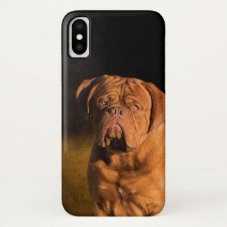 Dogue de Bordeaux iPhone X Case