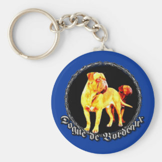 Dogue de Bordeaux keychain