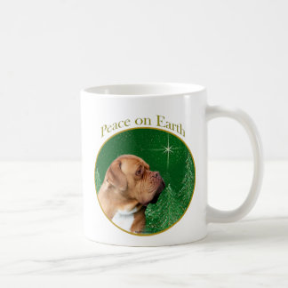 Dogue de Bordeaux Peace Coffee Mug