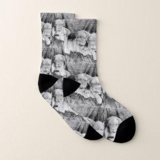 Dogue de Bordeaux  puppies dog socks 1