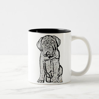 Dogue de Bordeaux puppy mug