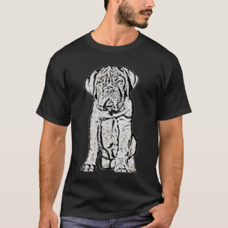 Dogue de Bordeaux puppy t-shirt
