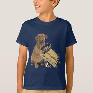 Dogue De Bordeaux Watches Over Me T-Shirt