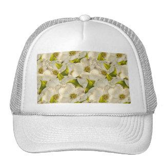 Dogwood Blossom Spring Photograph Pattern Trucker Hat