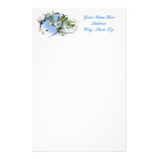 Dogwood Blossom Stationary Stationery