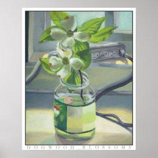 Dogwood Blossoms - Fine Art Print
