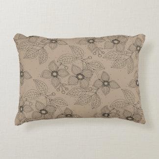Dogwood Branch Line Art Design Accent Pillow