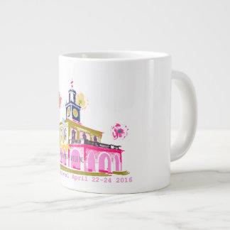 Dogwood Festival 2016 downtown Fayetteville NC Large Coffee Mug