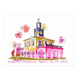 Dogwood Festival 2016 downtown Fayetteville NC Postcard