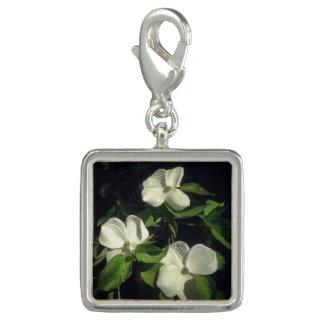 Dogwood Flowers II Photo Charm