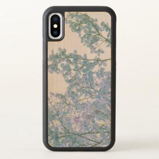 Dogwood Flowers Purple Lavender Tinted Nature Art iPhone X Case