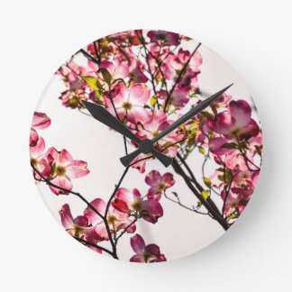 Dogwood in Bloom Clocks