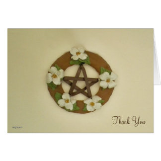 Dogwood Pentacle Handfasting Card
