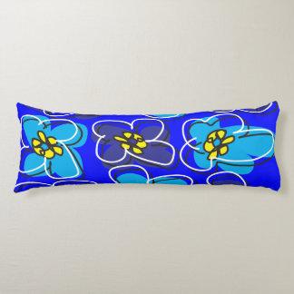Dogwood Retro Reversible Pillow Blue Green/White