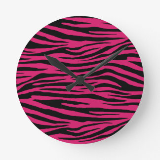 Dogwood Rose Tiger Wallclock