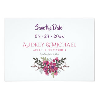 Dogwood Save the Date Announcement