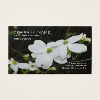 Dogwood Tree Flower Business Card